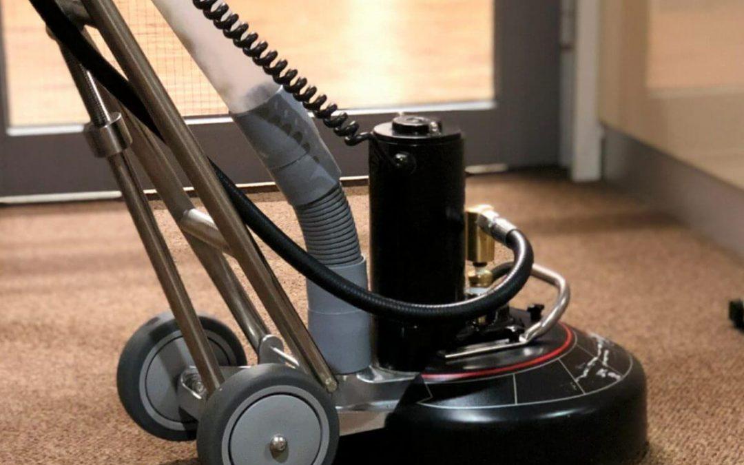 Tapijtreiniging, ook de vloer maakt deel uit van uw werkplek!